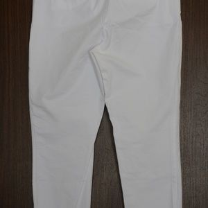 Daisy Fuentes Pants - Daisy Fuentes white cropped pans size 10 pre-owned